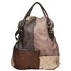 Kožená kabelka do ruky a-s-98, hnědá, 966-4041 - 26
