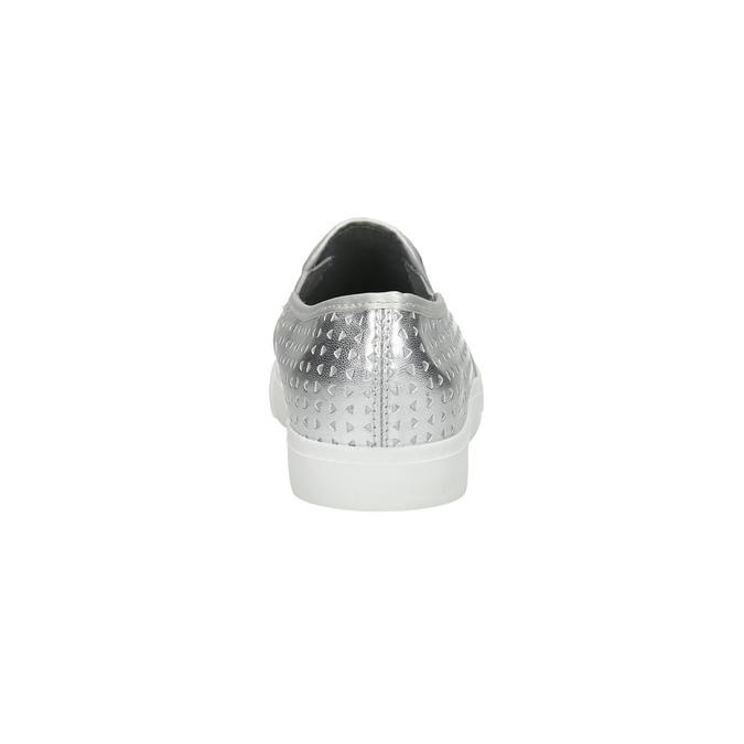 Stříbrné dámské Slip-on north-star, stříbrná, 511-1600 - 17