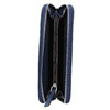 Dámská peněženka s prošíváním bata, modrá, 941-9146 - 15