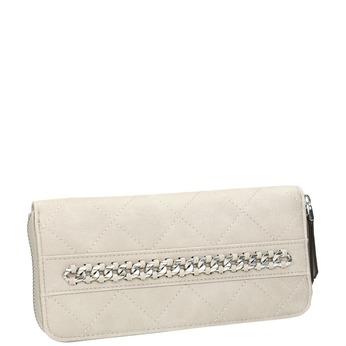 Dámská prošívaná peněženka bata, béžová, 941-8146 - 13