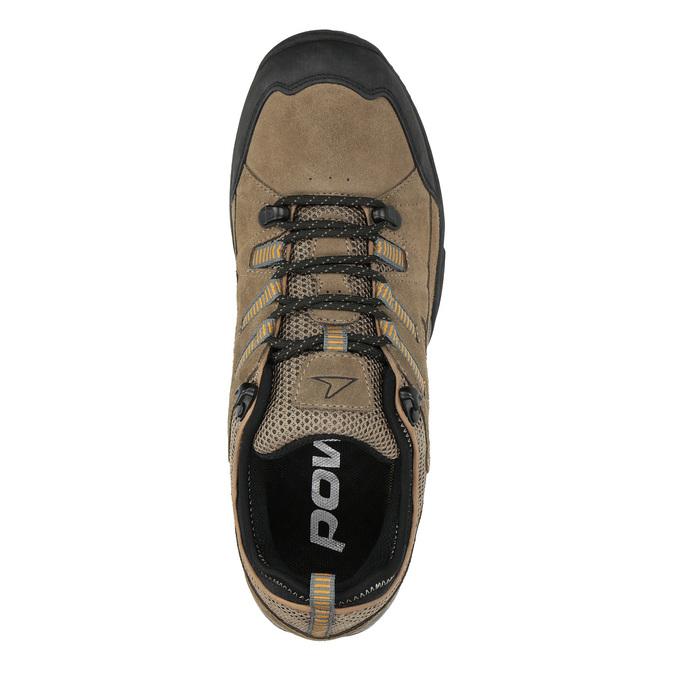 Kožená Outdoor obuv power, hnědá, 803-3118 - 19