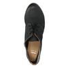 Dámské polobotky s perforací bata, černá, 526-6619 - 19