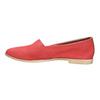 Červené kožené Slip-on boty bata, červená, 516-5602 - 26