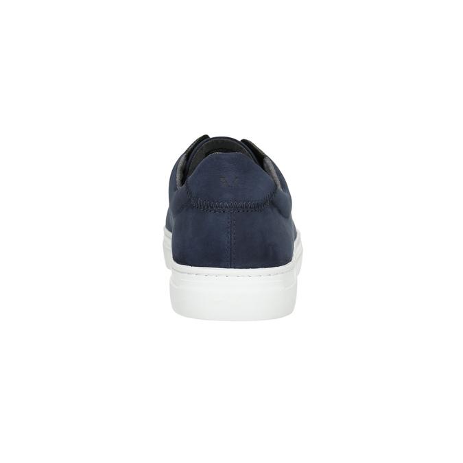 Pánské kožené tenisky vagabond, modrá, 823-9013 - 17