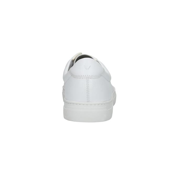 Bílé kožené tenisky vagabond, bílá, 824-1013 - 17