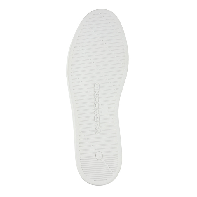 Bílé kožené tenisky vagabond, bílá, 824-1013 - 26