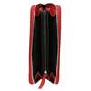 Červená kožená peněženka bata, červená, 944-5178 - 15