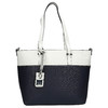 Dvoubarevná Shopper kabelka gabor-bags, modrá, 961-9087 - 26