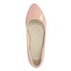 Lakované dámské baleríny bata, růžová, 521-5602 - 19