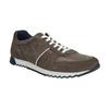 Pánské kožené tenisky bata, hnědá, 843-4624 - 13