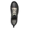Pánské kožené tenisky bata, černá, 844-6634 - 19