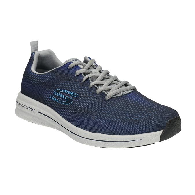 Pánské tenisky s paměťovou pěnou skechers, modrá, 809-9141 - 13