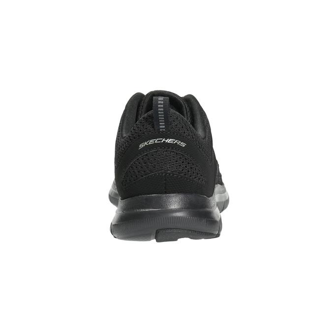 Tenisky s paměťovou pěnou skechers, černá, 509-6963 - 17
