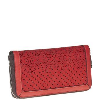 Červená dámská peněženka bata, červená, 941-5147 - 13