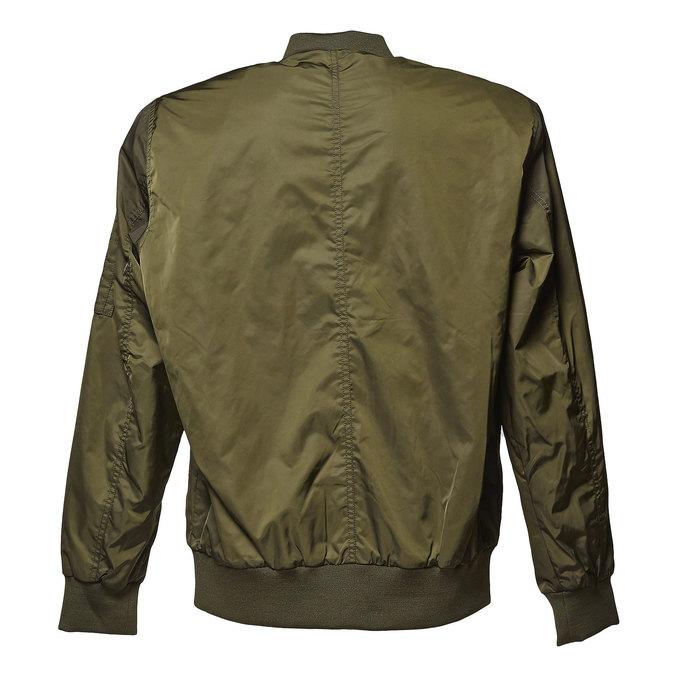 Pánská bunda v Bomber stylu bata, khaki, 979-7261 - 26