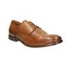 Ležérní kožené Derby polobotky bata, hnědá, 826-3907 - 13