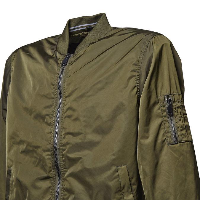 Pánská bunda v Bomber stylu bata, khaki, 979-7261 - 16