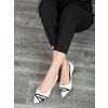 Kožené dámské baleríny bata, bílá, 524-1602 - 18