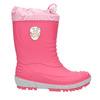 Dívčí holínky s výraznou podešví mini-b, růžová, 392-5111 - 15