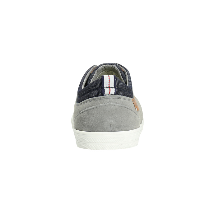 Ležérní pánské tenisky bugatti, šedá, 849-2631 - 17