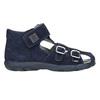 Kožené chlapecké sandály richter, modrá, 113-9024 - 15