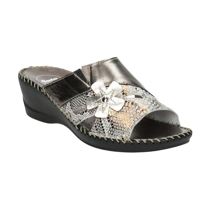 Kožená domácí obuv comfit, 674-8120 - 13