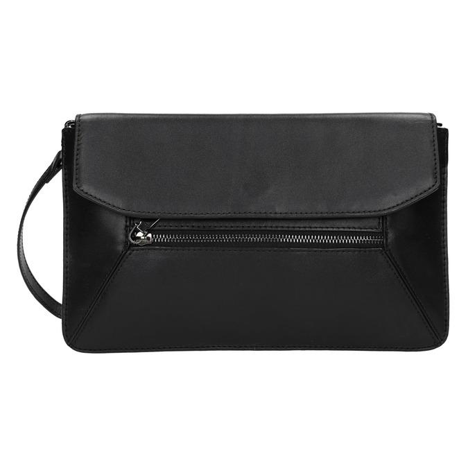 Černé kožené psaníčko bata, černá, 964-6219 - 26