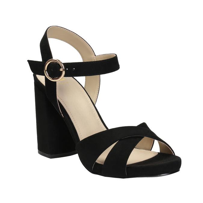 Dámské sandály na masivním podpatku bata, 2021-769-6602 - 13