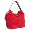 Červená kožená kabelka bata, červená, 963-5103 - 13