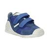 Dětská kožená obuv biomecanics, modrá, 113-9017 - 13