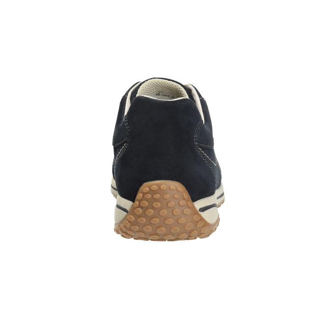Dámské kožené tenisky gabor, modrá, 626-9205 - 17