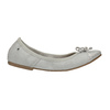 Dámské baleríny s pružným lemem bata, šedá, 521-1601 - 15