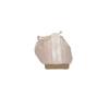 Dámské baleríny s pružným lemem bata, růžová, 521-8601 - 17