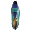 Kožené polobotky v Oxford stylu melvinandhamilton, modrá, 826-9060 - 19