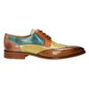 Pánské kožené polobotky v Derby stylu melvinandhamilton, vícebarevné, 826-0052 - 15