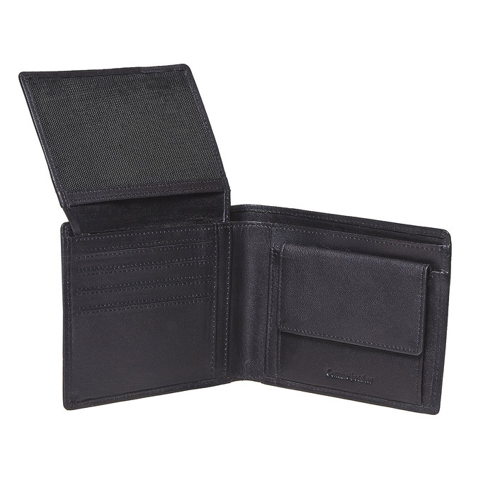 Pánská kožená peněženka bata, černá, 944-6124 - 19