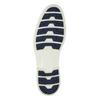 Kožené polobotky na výrazné podešvi weinbrenner, modrá, 823-9607 - 26