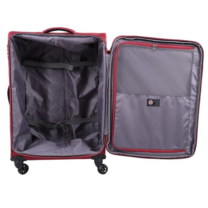 Červený cestovní kufr roncato, červená, 969-5637 - 15
