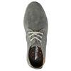 Ležérní kožené polobotky šedé weinbrenner, šedá, 843-2629 - 19