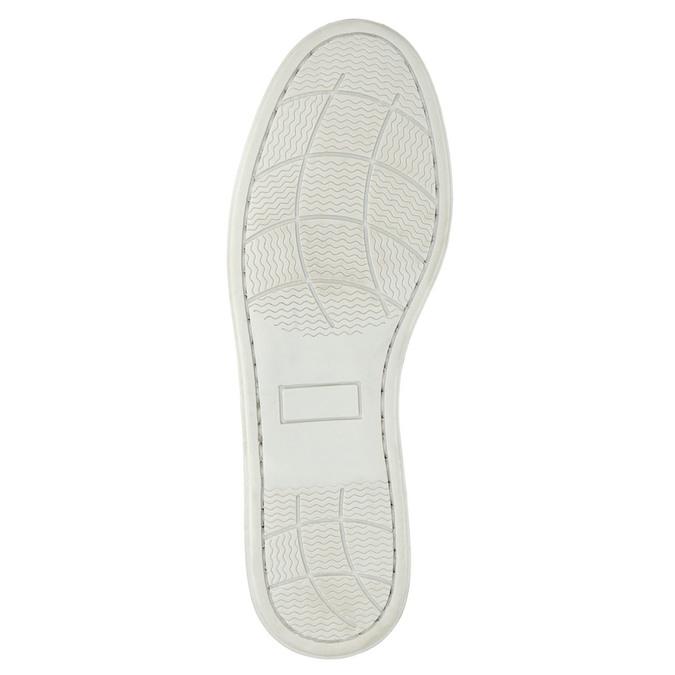 Kožené Boat Shoes bata, hnědá, 856-3604 - 26