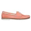 Dámské kožené mokasíny bata, růžová, 526-5632 - 15