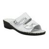 Kožená domácí obuv comfit, bílá, 674-1600 - 13