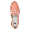 Dámské kožené mokasíny bata, růžová, 526-5632 - 19