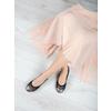 Dámské baleríny s pružným lemem bata, černá, 521-2601 - 18