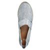 Dámská obuv ve stylu Slip-on bata, modrá, 516-9604 - 19
