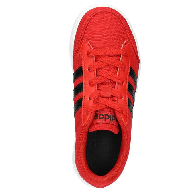 Červené dětské tenisky adidas, červená, 389-5119 - 26