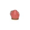 Kožené baleríny do špičky bata, růžová, 524-0604 - 17