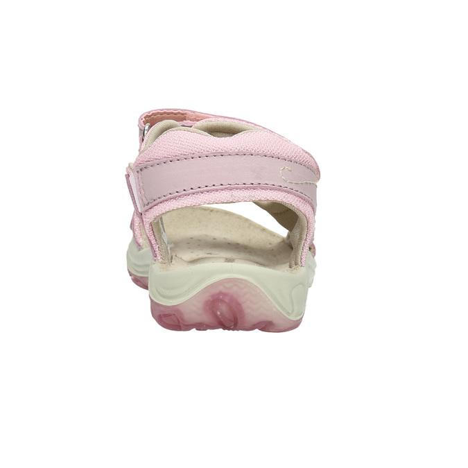Dívčí růžové sandály weinbrenner-junior, růžová, 366-5607 - 17