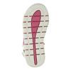 Kožené sandály na suché zipy mini-b, bílá, 263-1603 - 26