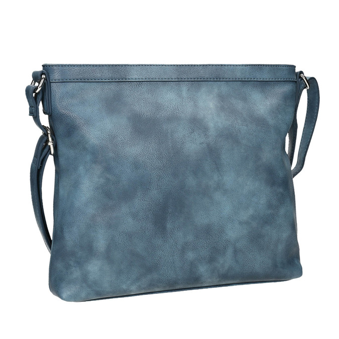 Modrá Crossbody kabelka bata, modrá, 961-9686 - 13